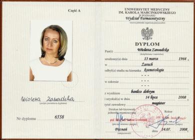 Dyplom - tytuł magistra